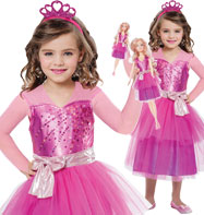 Barbie Princess with Barbie Doll - Child Costume