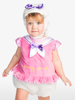 Daisy Duck Tabard - Infant Costume Fancy Dress
