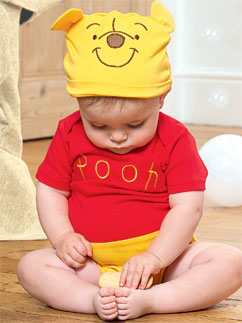 Winnie the Pooh Jersey Set - Infant Costume Fancy Dress