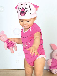 Piglet Jersey Set - Infant Costume Fancy Dress