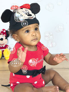 Minnie Mouse Jersey Set - Infant Costume Fancy Dress