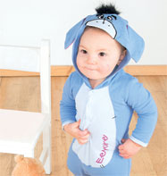 Eeyore Jersey Romper - Infant Costume