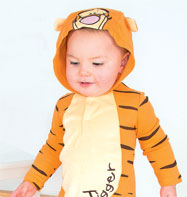 Tigger Jersey Romper - Infant Costume