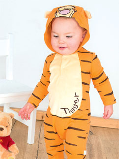 Tigger Jersey Romper - Infant Costume Fancy Dress