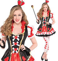 Queen of Hearts - CHild and Teen Costume