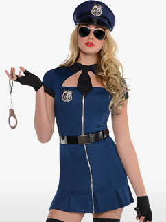 Bad cop - Adult Costume