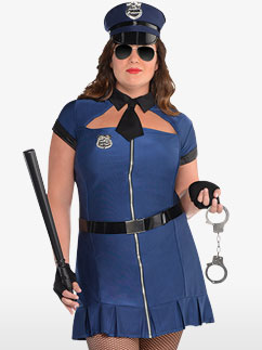 Bad Cop - Adult Costume Fancy Dress