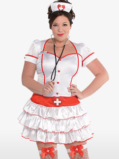 Nurse IV - Adult Costume Fancy Dress