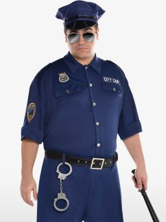 On Patrol - Adult Costume Fancy Dress