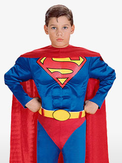 Superman - Child Costume Fancy Dress