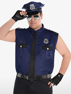 Under Arrest - Adult Costume Fancy Dress