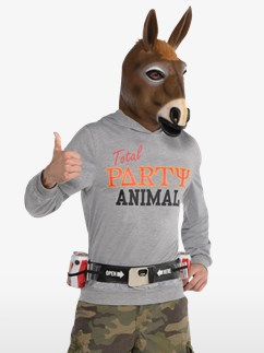Party Jackass - Adult Costume Fancy Dress