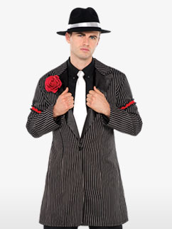 Zootsuit Jacket - Adult Costume Fancy Dress