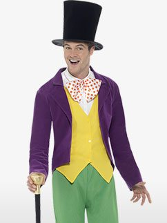 Willy Wonka - Adult Costume Fancy Dress