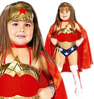 Wonder Woman - Child Costumes Fancy Dress