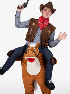 Carry Me Horse - Adult Costume Fancy Dress