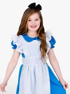 Classic Alice - Child Costume Fancy Dress