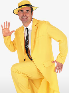 Yellow Suit - Adult Costume