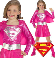 Supergirl - Child Costumes Fancy Dress