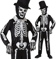 Skeleton Bone Zombie - Child Costume