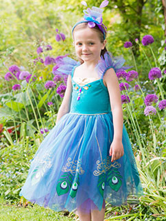 Peacock Fairy - Child Costume Fancy Dress