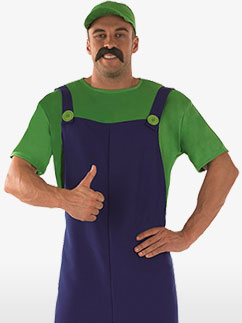 Plumbers Mate Green - Adult Costume Fancy Dress