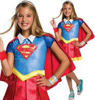 Deluxe Supergirl - Child Costume