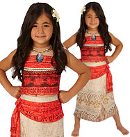Disney Deluxe Moana - Child Costume