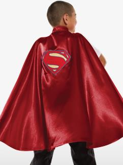 Childs Deluxe Superman Cape - Child Costume Fancy Dress