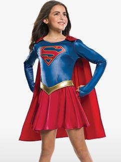 Supergirl - Child Costume Fancy Dress