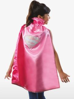 Supergirl Cape - Child Costume Fancy Dress