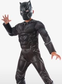 Deluxe Black Panther - Child Costume Fancy Dress