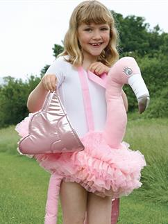 Ride on Flamingo - Child Costume Fancy Dress