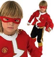 Man United Superhero - Child Costume Fancy Dress