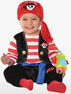 Baby Buccaneer - Baby Costume Fancy Dress