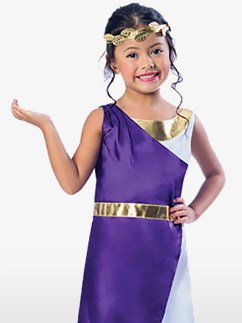 Roman Girl - Child Costume Fancy Dress