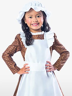 Victorian Girl - Child Costume Fancy Dress