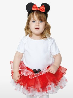 Minnie Mouse Tutu & Headband Set