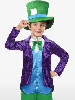 Top Hatter - Child Costume Fancy Dress