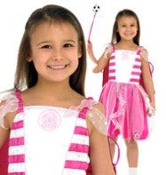 Celtic Football Fairy Pink - Child Costume Fancy Dress