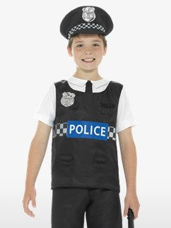 Cop - Child and Teen Costume Fancy Dress