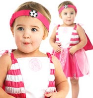 Celtic Football Fairy Pink - Infant Costume Fancy Dress