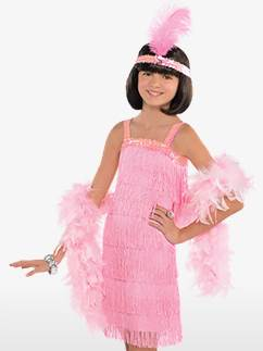 1920's Flapper Pink - Child Costume Fancy Dress