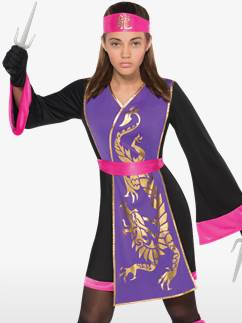 Sassy Samurai - Child and Teen Costume Fancy Dress