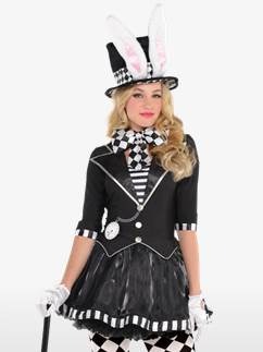 Dark Mad Hatter - Adult Costume Fancy Dress