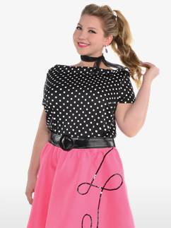 50's Flair Plus Size - Adult Costume Fancy Dress