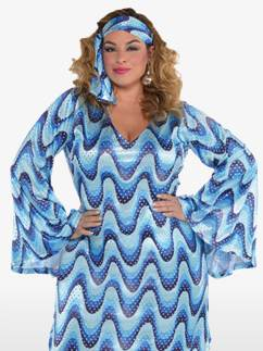 Disco Lady Plus Size - Adult Costume Fancy Dress