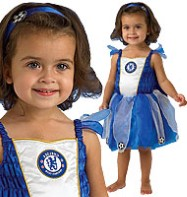 Chelsea Football Fairy Blue - Infant and Toddler Costume Fancy Dress
