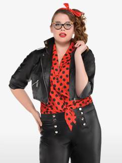 Rockin' Rebel Plus Size - Adult Costume