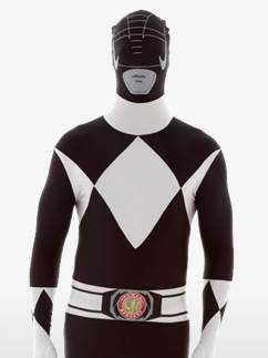Black Power Ranger Morphsuit